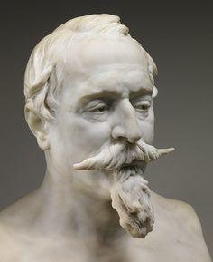 Bust of Napoleon III, 1873 Jean-Baptiste Carpeaux (French, 1827–1875) Marble source: met museum