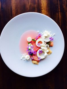 Food Inspiration  Rhubarb.  The ChefsTalk Project