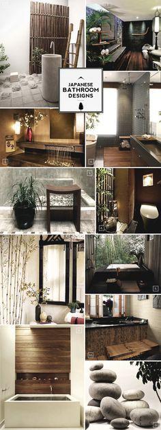 Zen Style: Japanese Bathroom Design Ideas