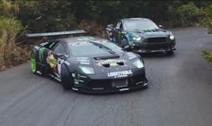 Vaughn Gittin Jr. and his 550-hp Mustang V8 in Japan, where he will face Daigo Saito and his extreme 650-hp Lamborghini Murcielago! War of the Worlds! In one corner we have Vaughn Gittin Jr. with his Ford Mustang RTR that has 550 hp thanks to a 5L V8 engine, and in the other corner we …