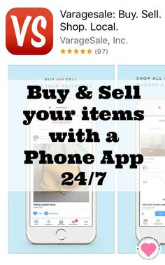 You can buy and sell your unwanted items using the VarageSale app and your smartphone 24/7 and make extra money. Read about it on makeupbsessedmom.com