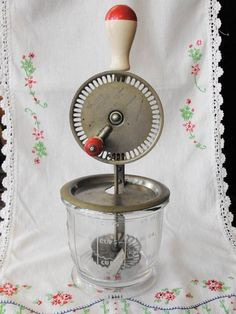 Vintage Kitchen Mixer Presto Bowl Whip  $24 What can children learn to whip with this as they investigate food preparation?