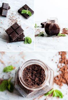 DIY Mint Chocolate Scrub | Henry Happened