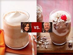 Choose your favorite dessert-in-a-glass recipe from Rachael Ray and Guy Fieri in the #RvGKids showdown.