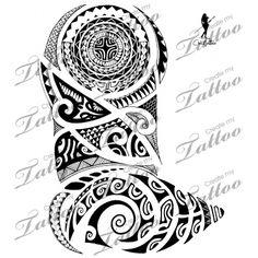 Marketplace Tattoo Poly 1/2 Sleeve #7256 | CreateMyTattoo.com