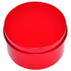 Lata Redonda Vermelha