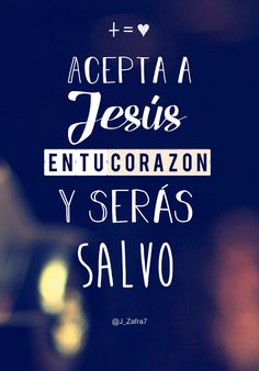 Accept Jesus in your heart and you will be saved Christian phrases to … - Modern Inspirational Phrases, Motivational Phrases, Jesus Christ Images, Bible Images, My Salvation, Christian Devotions, Christian Memes, Just Believe, God Loves Me