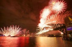 Welcome to 2014. It's midnight in Sydney Taken by @bricksnmortar01 01/01/2014