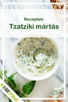 Elkészítés:  Hámozzuk meg az uborkát, majd reszeljük le egy tálba. A reszelt uborkát sózzuk meg, majd hagyjuk állni kb. egy fél órát. Ezután szűrjük le a levét alaposan. Addig a fokhagymát zúzzuk apróra, vagy nyomjuk át fokhagymapréssel, és tegyük a joghurtba! Kattints ide a teljes receptért! Tzatziki, Pesto, Ethnic Recipes, Food, Yogurt, Eten, Meals, Diet