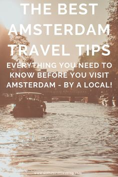 100 Best Amsterdam Travel Tips - All the Amsterdam travel advice you need in one place. Find out the best things to do in Amsterdam, the best free things to do in Amsterdam, the best hotels in Amsterdam, how to travel to Amsterdam on a budget, and more! Written by a local Amsterdam resident and travel writer, this is the ultimate Amsterdam travel guide. Best Hotels In Amsterdam, Amsterdam Travel Guide, Visit Amsterdam, Travel Advice, Travel Tips, Free Things To Do, Need To Know, Writer, Budget