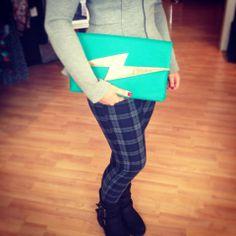 New Neon Clutch bags!