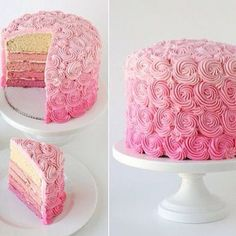 quiero aprender a hacer este decorado de pastel :)
