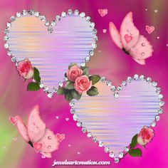 BEAUTIFUL HEARTS ANIMATION     Free to use please leave my website name on   this. You can save for your own use   you can share using F...