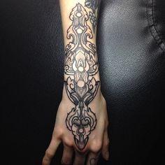 decorative #hand #wrist #arm #tattoos