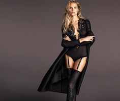 Lily Of The City:  Lily Of The CityNatasha Poly for La Perla F/W 201...