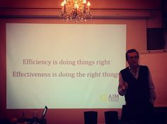 A very inspiring quote - a moment of our internal country managers meeting in #Prague