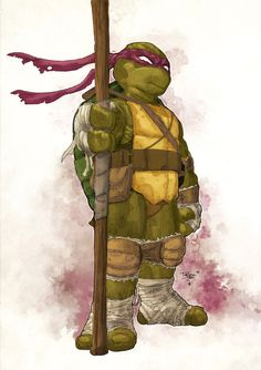 TMNT - Donatello by Tristan Jones and Mike Spicer