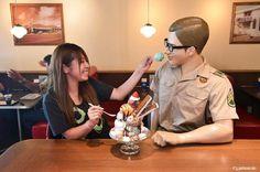 There are 17 scoops of different flavors ice cream in this amazing BIG MOUNTAIN SUNDAE!  #japankuru #japan #cooljapan #okinawa #blueseal #icecream #instagood #instajapan #instafood #yummy #sundae #블루씰 #오키나와맛집 #오키나와여행 #아이스크림 #冰淇淋 #沖繩 #沖繩旅行 #消暑 #聖代
