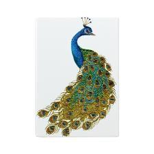 Peacock Glass Cutting Board