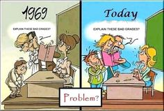 Explain these bad grades: 1969 vs today