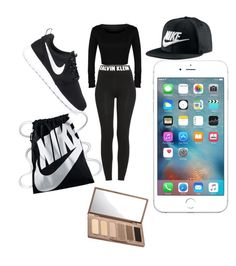 """""""#Nike✅"""" by lunavillasenor89 on Polyvore featuring Calvin Klein, NIKE and Urban Decay"""