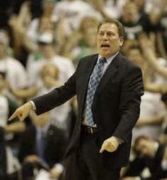 Tom Izzo 400th Win--I was at this game with my kiddos :)