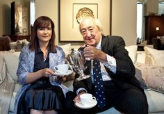 What could be better than royalty serving you tea?  The most gracious Lord Wedgwood!