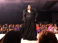 "Her Universe Fashion Show - SDCC 15 #SDCCgeekcouture | ""Lady of the Wall"" Game of Thrones inspired gown by Ericka Angiuli"
