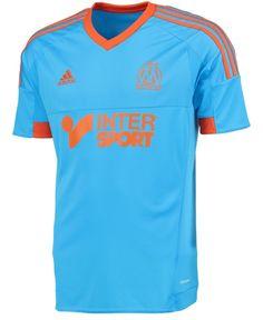 Olympique de Marseille Adidas Blue Jersey 2014/15