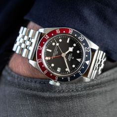 Thoughts on Tudor GMT on Jubilee Men's Watches, Rolex Watches For Men, Maria Tudor, Tudor Watch Men, Ice Watch, Watch 2, Rolex Cellini, Breitling Superocean, Tudor Black Bay