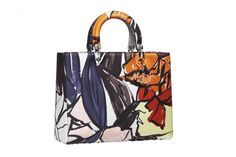 Lady Dior bag with abstract1