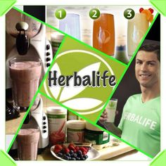 Herbalife is simple as one, two, three   Have you had your shake today?