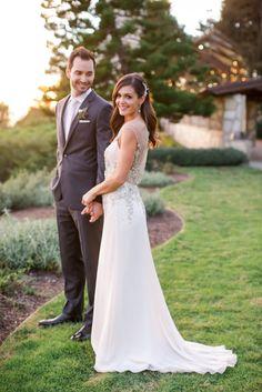 Des + Chris: Wedding Ceremony at Wayfarer's Chapel   Desiree Hartsock Photo: Brandon Kidd Photography