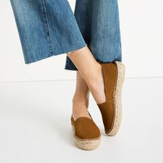 Image 2 of LEATHER ESPADRILLES from Zara