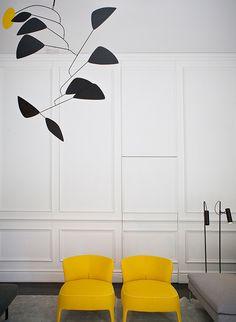 Las molduras, las boiseries y los muebles modernos Luxury Interior Design, Best Interior, Interior Architecture, Interior And Exterior, Bauhaus Interior, Interior Minimalista, Luxury Furniture, Home Furniture, Furniture Design