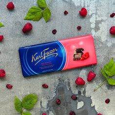 The lusciousness of Karl Fazer chocolate combined with delicious Finnish berries is everyone's favourite. How about indulging in this raspberry and cranberry delight?