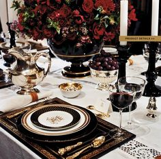 Ralph Lauren Home #Noble_Estate Collection 4 - Tableware. Gorgeous for Fall and Winter!