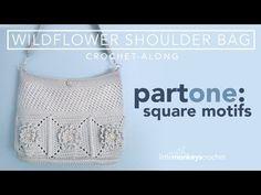 (1639) Wildflower Shoulder Bag CAL - Part 1 of 3 - YouTube