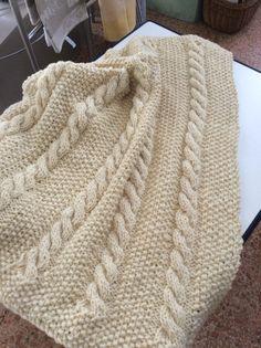 Copertina baby in pura lana vergine non trattata...wonderful