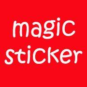 donneinpink- fai da te e consigli per gli acquisti: Magic Sticker - Il foglio magico da colorare all'i...