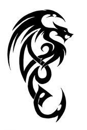 Tribal Tattoos Dragon Lower Back Tattoos Tribal Dragon Tattoos, Celtic Dragon Tattoos, Dragon Tattoos For Men, Chinese Dragon Tattoos, Dragon Tattoo Designs, Tribal Tattoo Designs, Japanese Tattoos, Tribal Tattoos For Men, Dragon Tattoo Simple