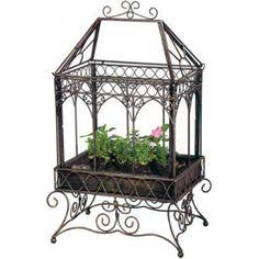 Love this Charleston Rust Terrarium. Terrarium For Sale, Terrarium Plants, Glass Terrarium, Diy Mini Greenhouse, Greenhouse Growing, Greenhouse Ideas, Dish Garden, Cold Frame, Grow Lights
