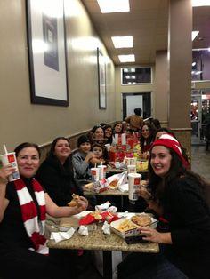 #MuyLatinas cenando despues del #McCafetour