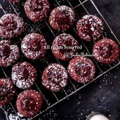 Blackforest Thumbprint cookies – Happy Holidays! | Made Just Right by Earth Balance #vegan #earthbalance #recipe | See more about thumbprint cookies, cookies and happy holidays.