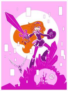 Amethyst: Princess of Gemworld by mikemaihack on deviantART