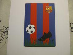Football card - Barcelona