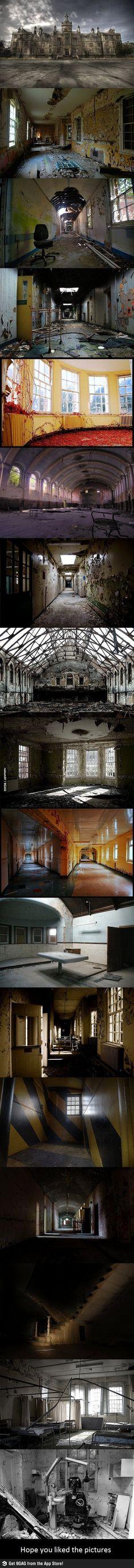 quand les monuments abandonnés deviennent le décor des plus belles scènes d'horreurs