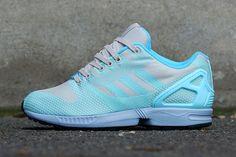 864d7b7088266 adidas Zx Flux Weave (Clear Aqua) - Sneaker Freaker