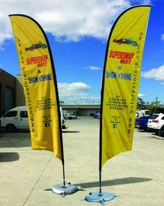 Purchase teardrop flags in Australia.