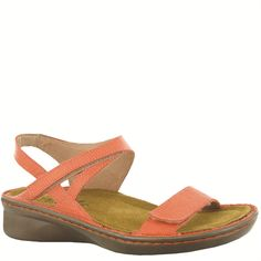 """Naot Women's """"Harp"""" from the Allegro Collection in Peach! Available in more colors! #Naot #NaotFootwear #Comfort #Fashion #Sandals #WomensFashion #SpringHasSprung"""